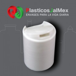 TAPA DISC TOP LISA BLANCA R-24-415