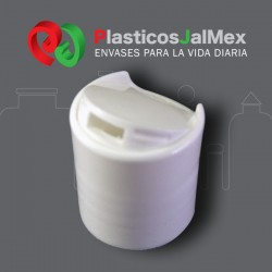TAPA DISC TOP LISA BLANCA R-20-410