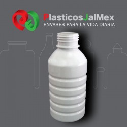 BOTELLA BIO 500 ML. BLANCO R-40 CON TAPA
