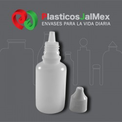 GOTERO 30 ML. NATURAL R-15 CON INSERTO Y TAPA