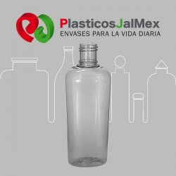 BOTELLA 500 ML. OVAL R-28 CON ANILLO